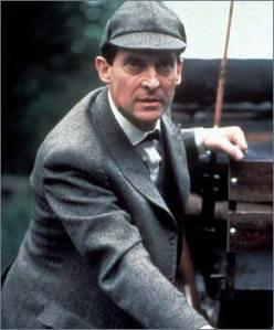 Sherlock Holmes as Jeremy Brett