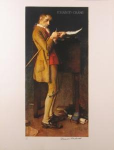 Rockwell's Ichabod of the Cranes