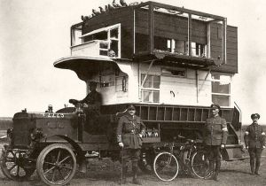 Mobile Pigeon Loft from WWI