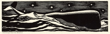 Moby dick by Rockwell Kent