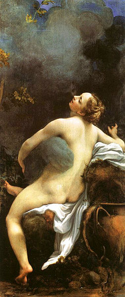 Correggio's Zeus with Io