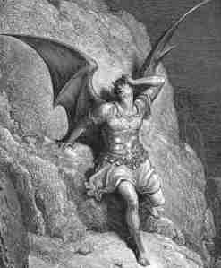 Satan Cast Out of Heaven by Dore